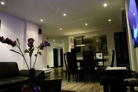 Proyectos Residenciales: Comedores de estilo moderno por MORAND ARQUITECTURA