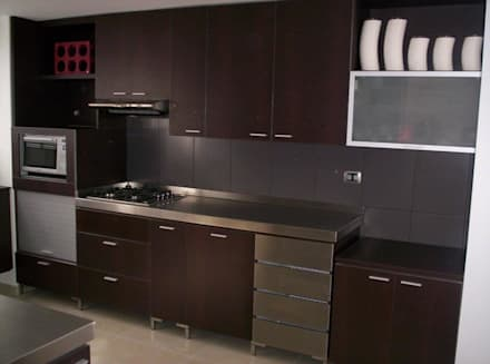 Diseno de Cocinas: Cocinas de estilo moderno por Ladosur