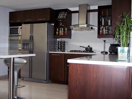 Cocinas ideas dise os y decoraci n homify for Ver disenos de cocinas integrales