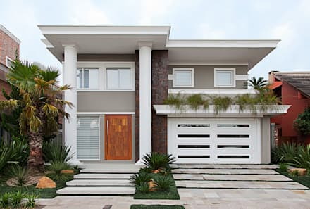 eclectic Houses by ANDRÉ PACHECO ARQUITETURA