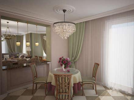 3D визуализация: Столовые комнаты в . Автор – Designer Olga Aysina
