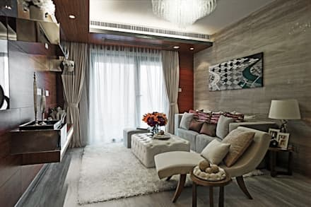 Timber House | China: modern Living room by Another Design London Limited