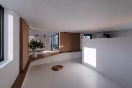 池上の家: アトリエ スピノザが手掛けた子供部屋です。