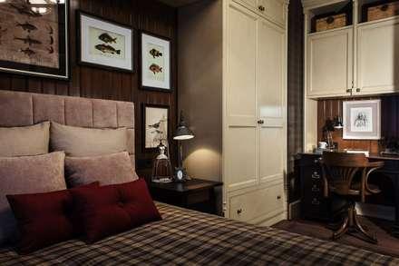 The apartment in Moscow 03: Chambre de style de style Classique par Petr Kozeykin Designs LLC, 'PS Pierreswatch'