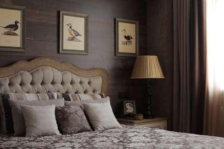 Apartment in Kurkino (Moscow) RU: Chambre de style de style Classique par Petr Kozeykin Designs LLC, 'PS Pierreswatch'