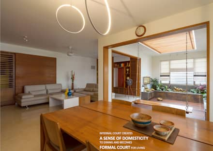 Dining: asian Dining room by 4site architects