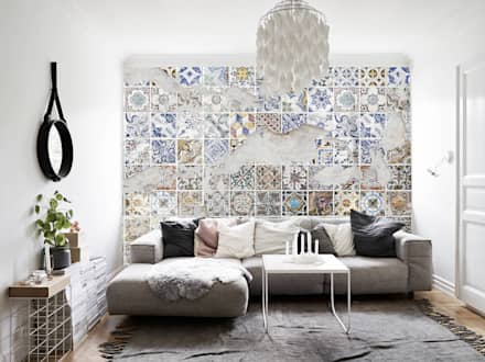 nws tiles: Pareti in stile  di Creativespace