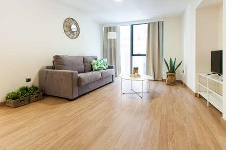 Apartamento Nórdico: Hoteles de estilo  de Inuk Home Studio