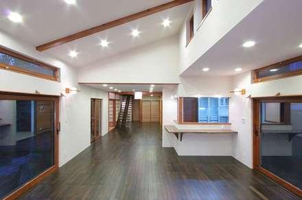 神奈川県鎌倉市 雪ノ下の家: Gen Design Factoryが手掛けたキッチンです。