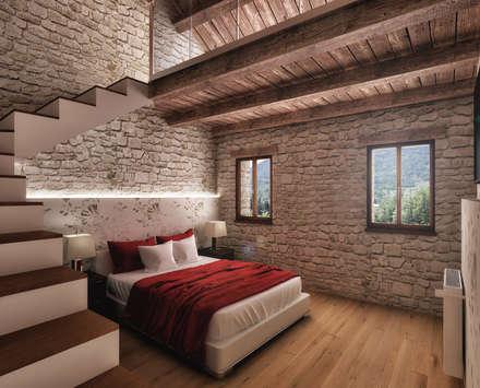 Camera da letto idee immagini e decorazione homify - Tende per camera da letto matrimoniale immagini ...