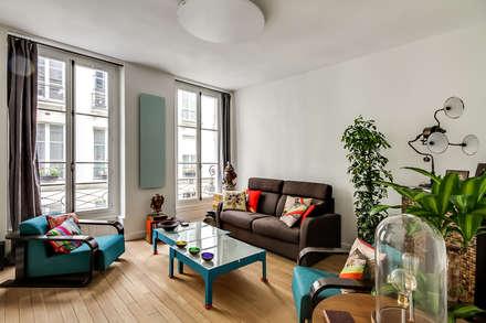 Séjour: Salon de style de style Moderne par ATELIER FB