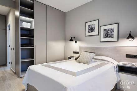 Hogar familiar en Badalona: Dormitorios de estilo clásico de Dröm Living