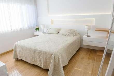 Departamento CONCEPCION ARENAL: Dormitorios de estilo minimalista por Trua arqruitectura