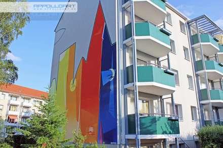Fassadenmalerei an der Fassadenwand:  Bürogebäude von  Wandgestaltung Graffiti Airbrush von Appolloart