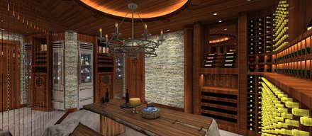 modern Wine cellar by Kerim Çarmıklı İç Mimarlık