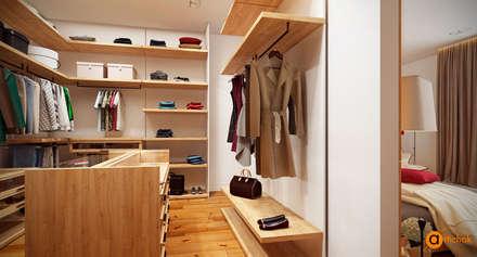 Closets de estilo escandinavo por Art-i-Chok