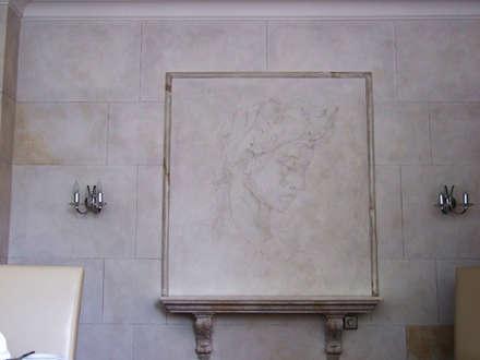 Wandschablone Michelangelo:  Wände von ab-design GmbH