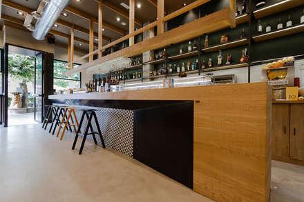 Barra: Bares y Clubs de estilo  de auno50 interiorismo