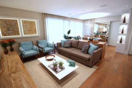 Salas de estar modernas ideias e inspira es homify for Sala de estar marron