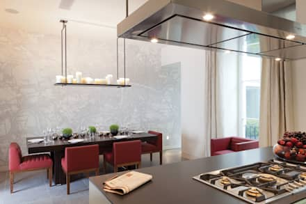 Lancasters Show Apartments - Kitchen Space : modern Kitchen by LINLEY London