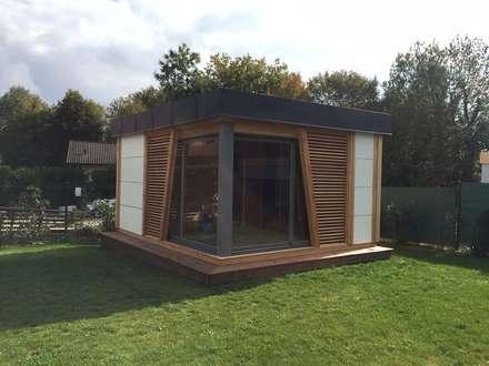 KUBHOME Espace bien-être/Poolhouse: Piscine de style de style Moderne par EXTAZE OUTDOOR
