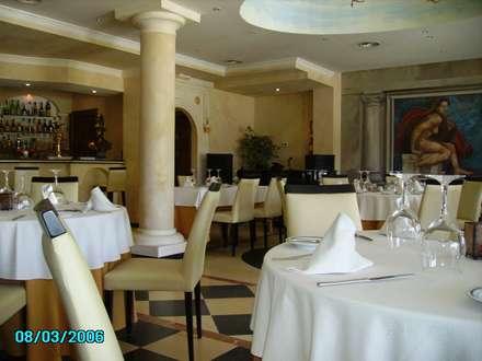 SALON VIEW: Locales gastronómicos de estilo  de diseño y construcción acima,s.l.