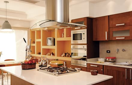 LEVALLE HOUSE: Cocinas de estilo moderno por Carbone Fernandez Arquitectos