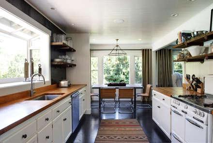 eclectic Kitchen by Antonio Martins Interior Design Inc