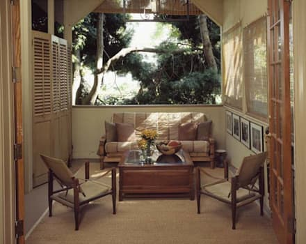 Hayes Street - Sao Francisco: Jardins de Inverno ecléticos por Antonio Martins Interior Design Inc
