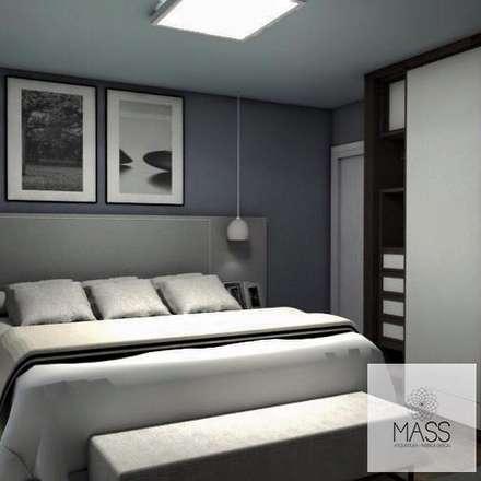 : Dormitorios de estilo moderno por ESTUDIO MASS
