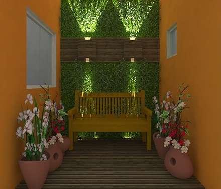 country Conservatory by Nádia Catarino - Arquitetura e Design de Interiores