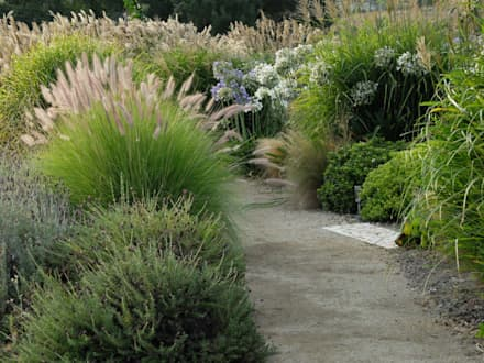 Pormenor de caminho: Jardins ecléticos por Atelier Jardins do Sul