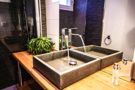 Rénovation d'une salle de Bains: Salle de bain de style de style Moderne par MB Architecte