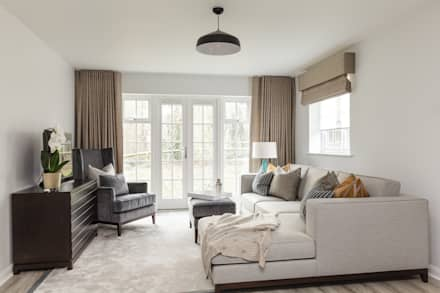 living room desing. Living Room  modern room by The White House Interiors design ideas inspiration pictures homify