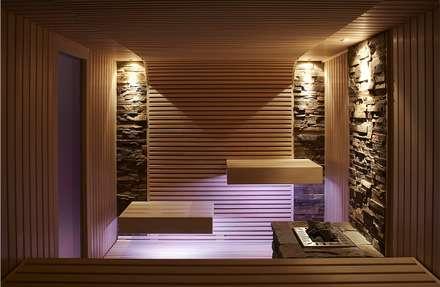 modern Spa by Erdmann Exklusive Saunen