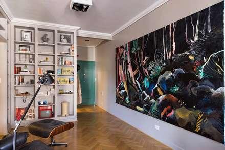 Arroyo: Dormitorios de estilo moderno por ezequielabad