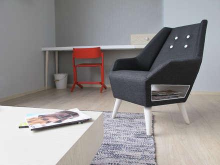 Hotel Click Clack : Hoteles de estilo  por ODA - Oficina de Diseño y Arquitectura
