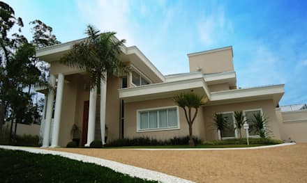 Projeto Residencial I - Condomínio Capital Ville: Casas modernas por Arquidecor Projetos