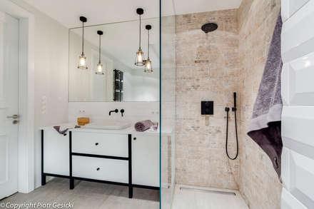 Portfolio: styl , w kategorii Łazienka zaprojektowany przez Loft Factory