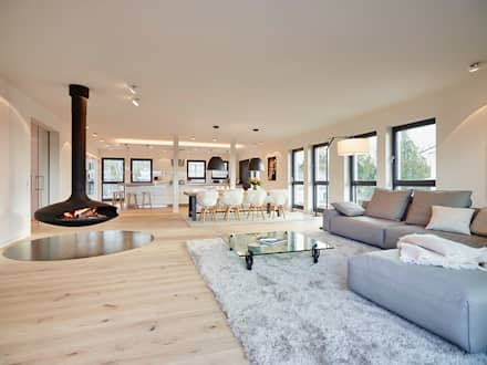 Wonderful Penthouse: Moderne Wohnzimmer Von HONEYandSPICE Innenarchitektur + Design