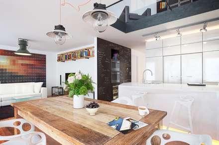 Vue interieur: Salon de style de style Moderne par ,