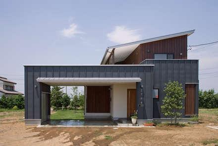 modern Garage/shed by 空間設計室/kukanarchi
