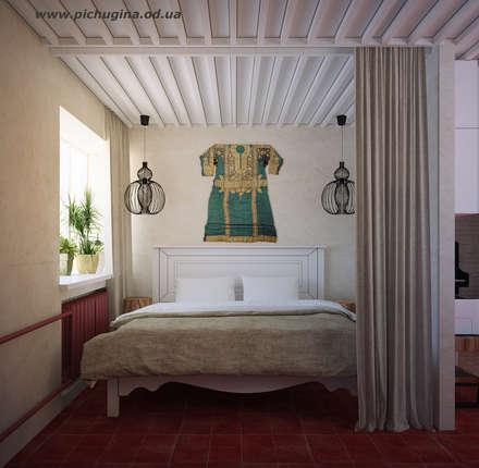 Квартира, 45 м.кв.: Спальни в . Автор – Tatyana Pichugina Design