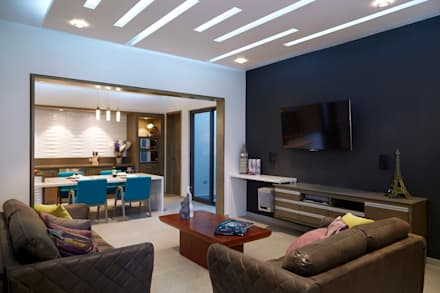minimalistic Media room by arketipo-taller de arquitectura