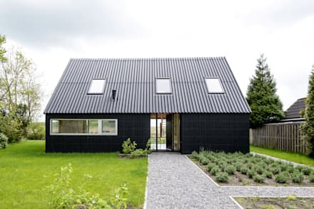 Zomerhuis Midlaren: landelijke Huizen door Kwint architecten
