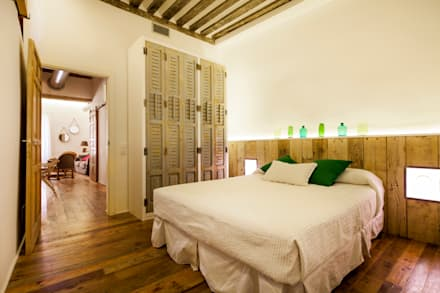 Dormitorios de estilo rústico por The Sibarist Property & Homes