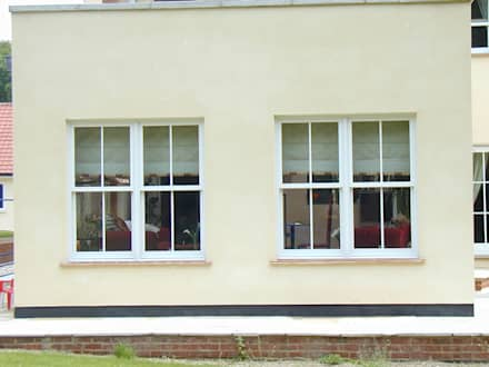 Traditional sash windows:  Windows  by Marvin Architectural