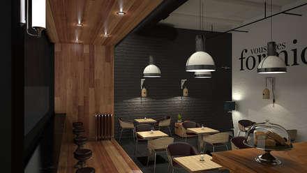 la formidable: Locales gastronómicos de estilo  por Adrede Diseño