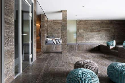 minimalistic Spa by Förstl Naturstein