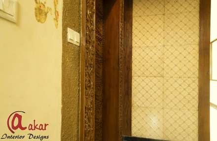 Mr. Ashish Chandak's Duplex Apartment: modern Windows & doors by Esha Garg : Interior Designer